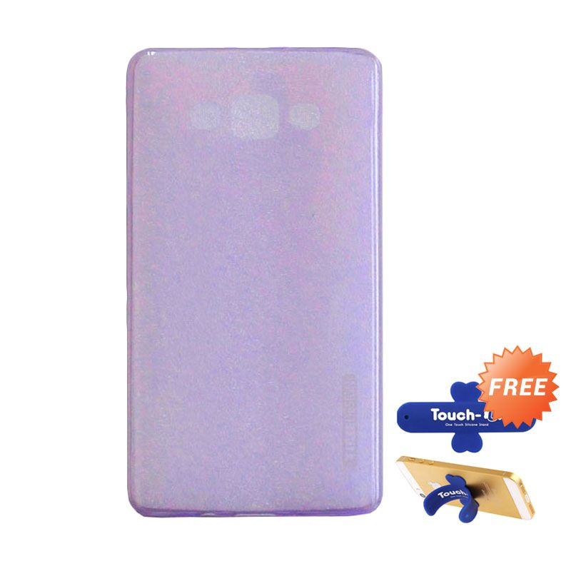 Tunedesign LiteAir Purple Casing for Samsung Galaxy A7 + Touch U Stand
