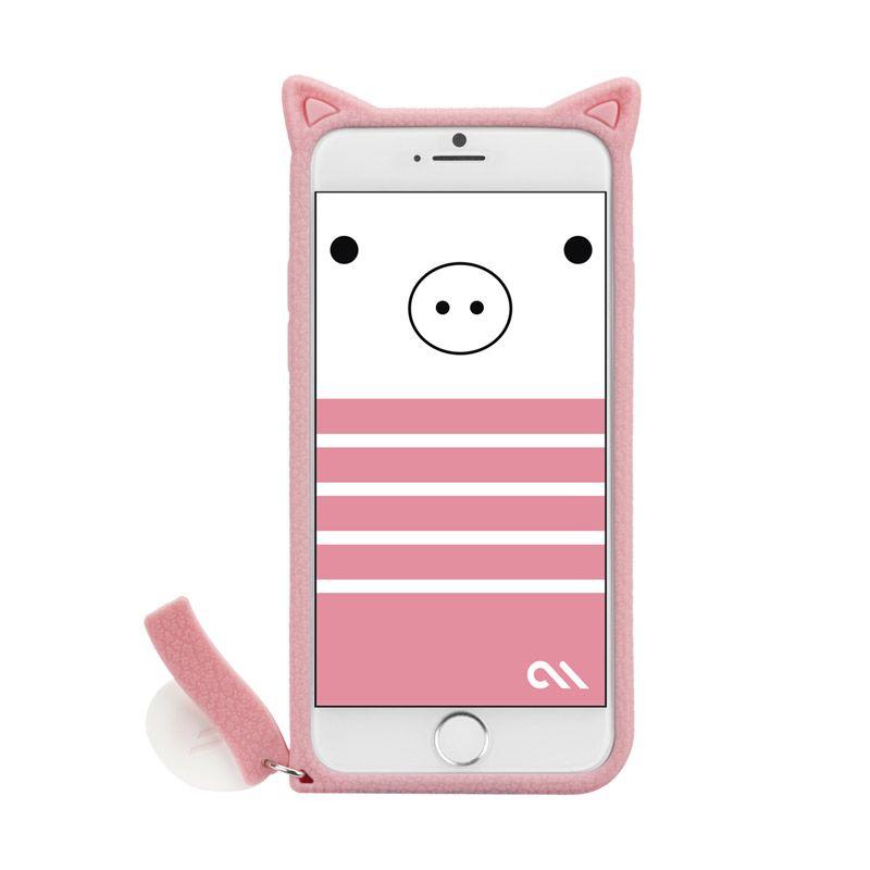 Case Mate iPhone 6 Case Creatures Pig Pink