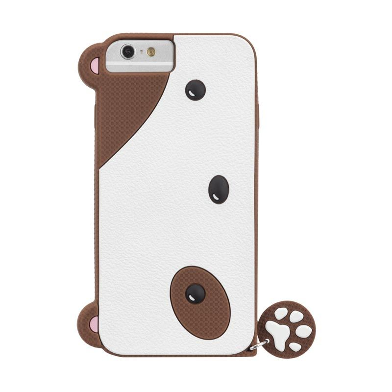 Case Mate iPhone 6 Case Creatures Puppy Brown