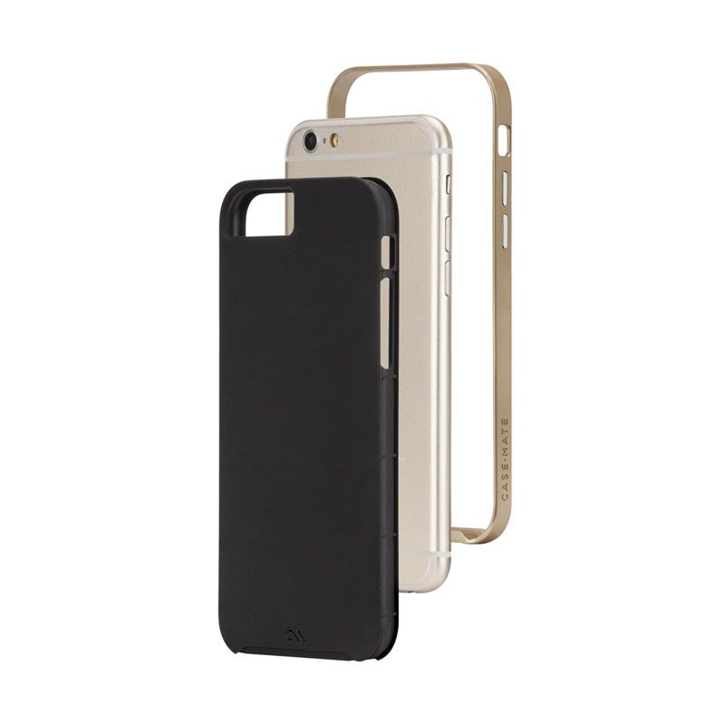 Case Mate iPhone 6 Case Slim Tough Black Gold