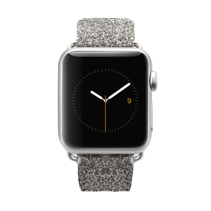 Casemate Brilliance Band Silver Casing for Apple Watch [38 mm]