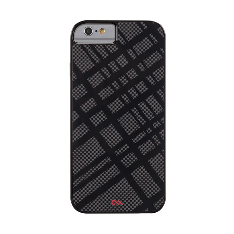 Casemate Carbon Fusion Black Red Casing for iPhone 6
