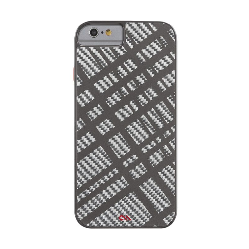 Casemate Carbon Fusion Grey Red Casing for iPhone 6