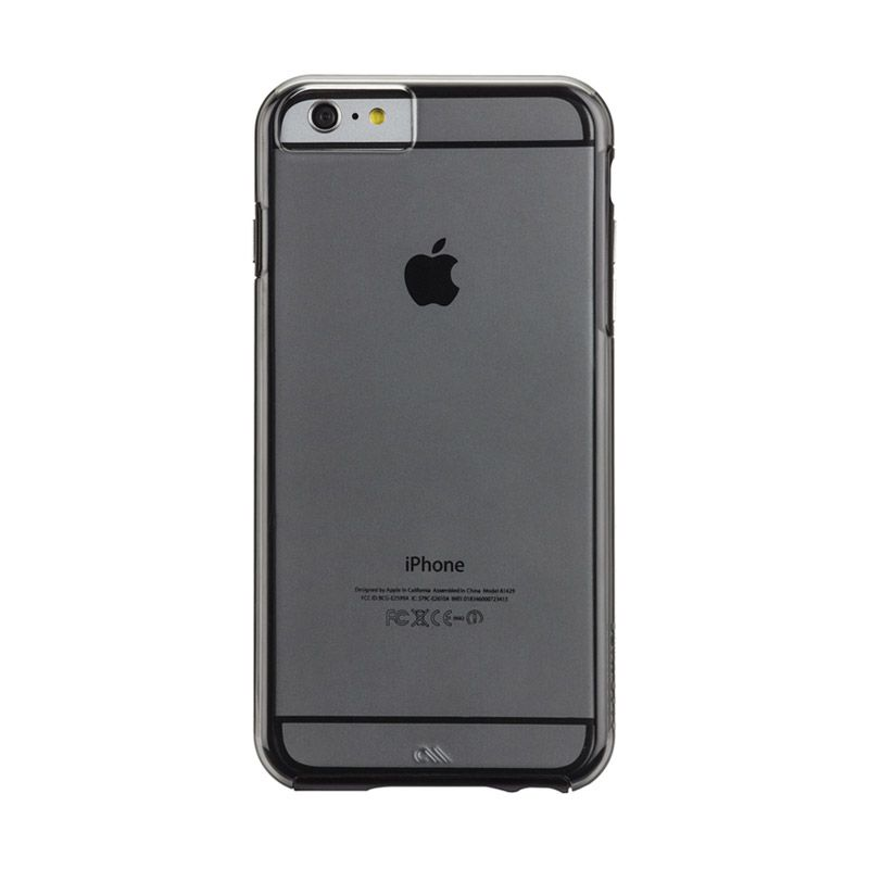 Case Mate iPhone 6 Plus Case Naked Tough Black Smoke