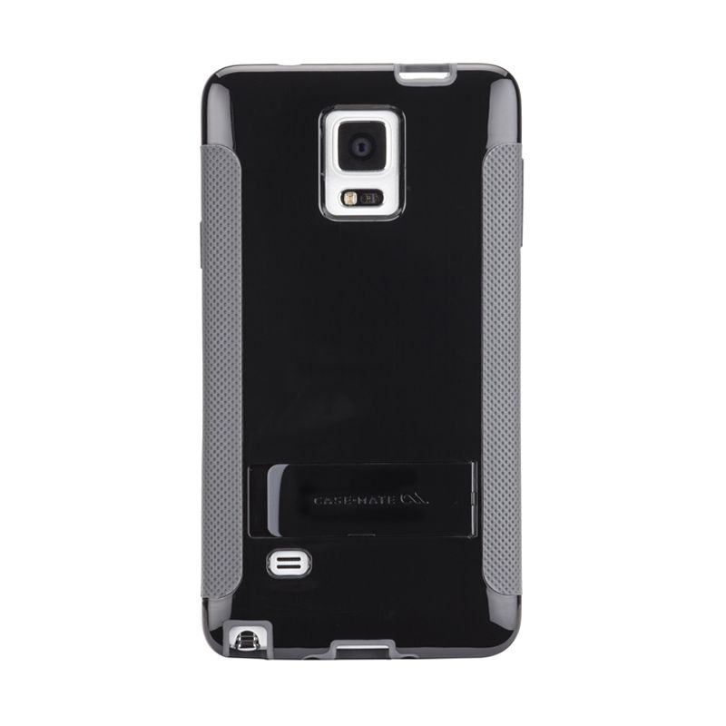 Casemate Samsung Galaxy Note 4 Case Pop Stand Black Grey Casing