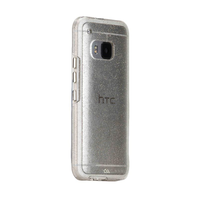 Casemate Sheer Glam Champagne Transparant Casing for HTC One M9