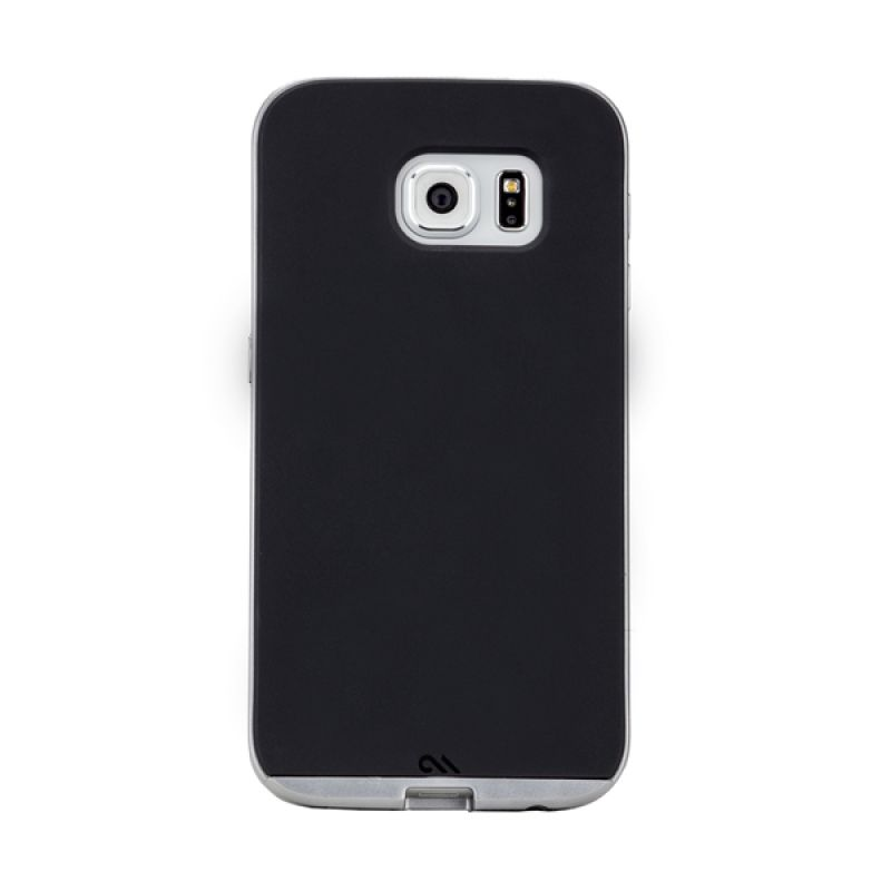 Casemate Slim Tough Black Silver Casing for Samsung Galaxy S6