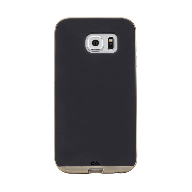 Casemate Slim Tough Black Gold Casing for Samsung Galaxy S6