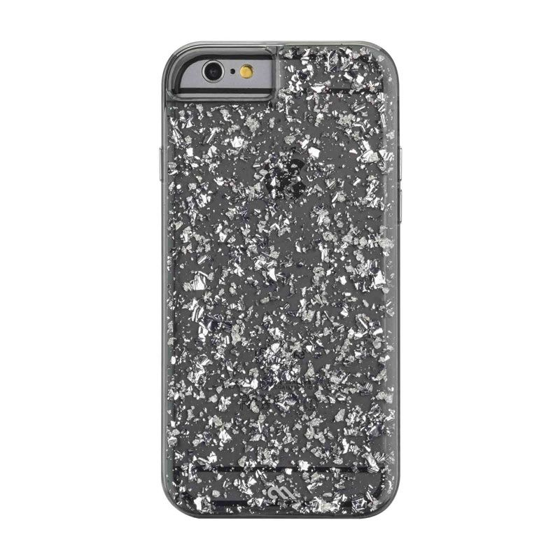 Casemate Sterling Silver Smoke Black Casing for iPhone 6