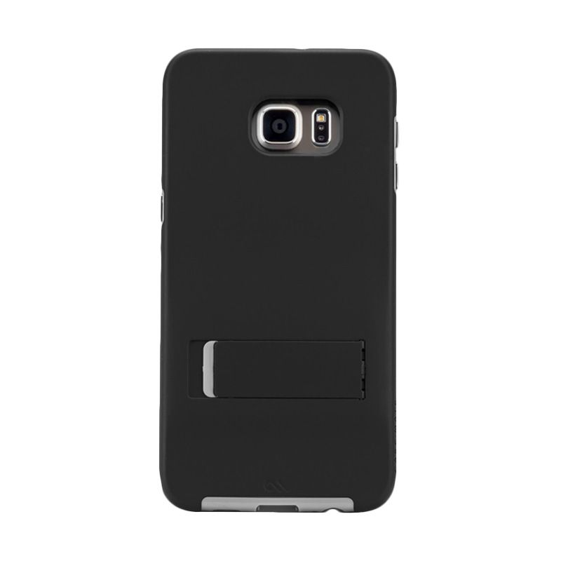 Casemate Tough Stand Black Grey Casing For Samsung Galaxy S6 Edge Plus