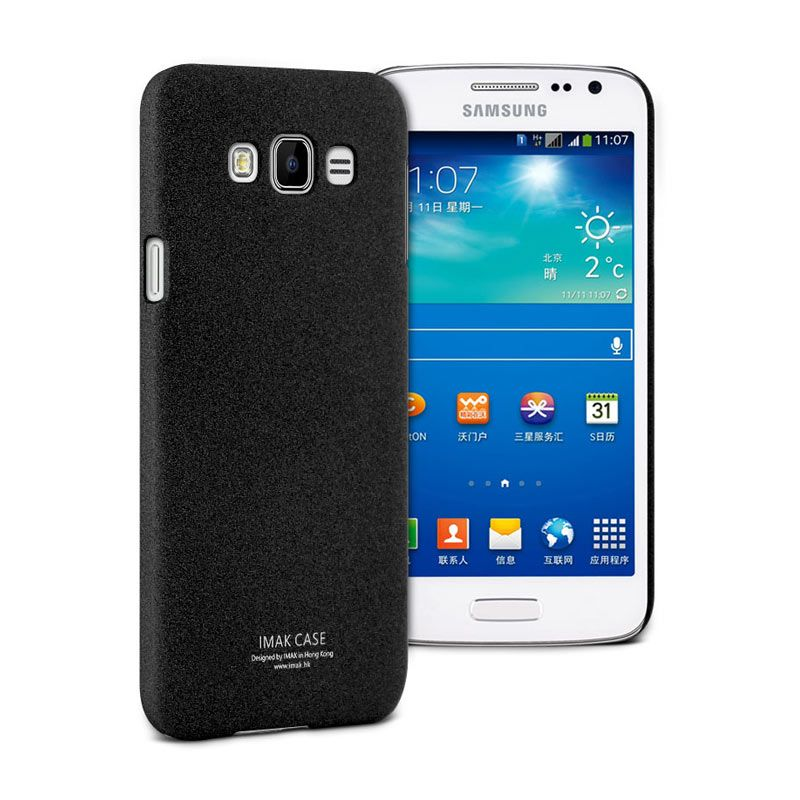 Imak Black Hard Casing for Samsung Galaxy E7