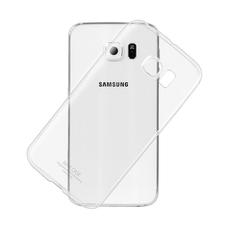 Imak Transparent Softcase Casing for Samsung Galaxy S6 Edge