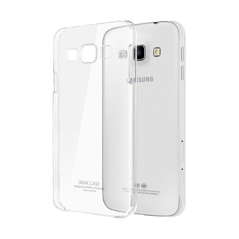 Imak Premium Bening Hardcase Casing for Galaxy A8