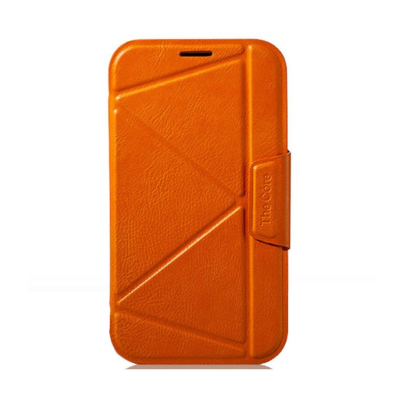 Momax Smartcase Orange Casing for Samsung Galaxy Note 2