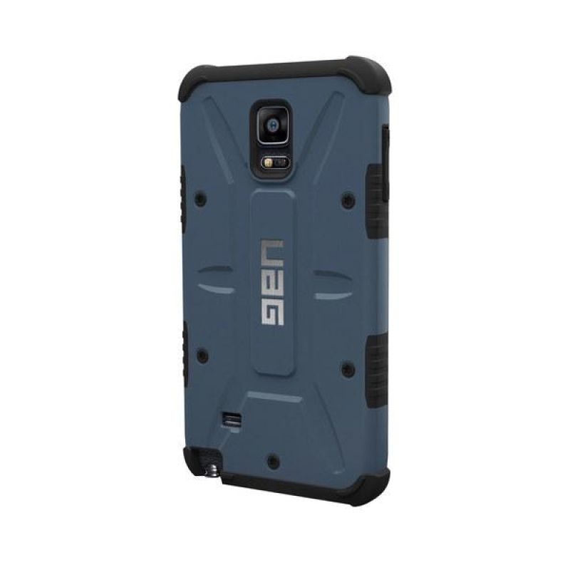 UAG Military Biru Metalslate Casing for Samsung Galay Note 4