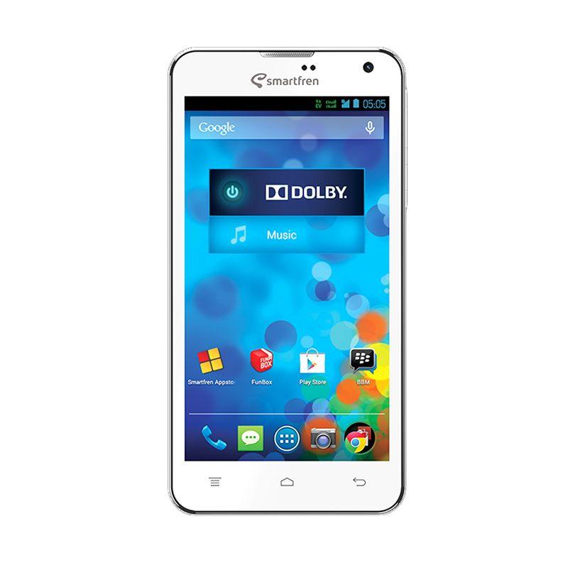 Smartfren Andromax I3 White Smartphone [4 GB]