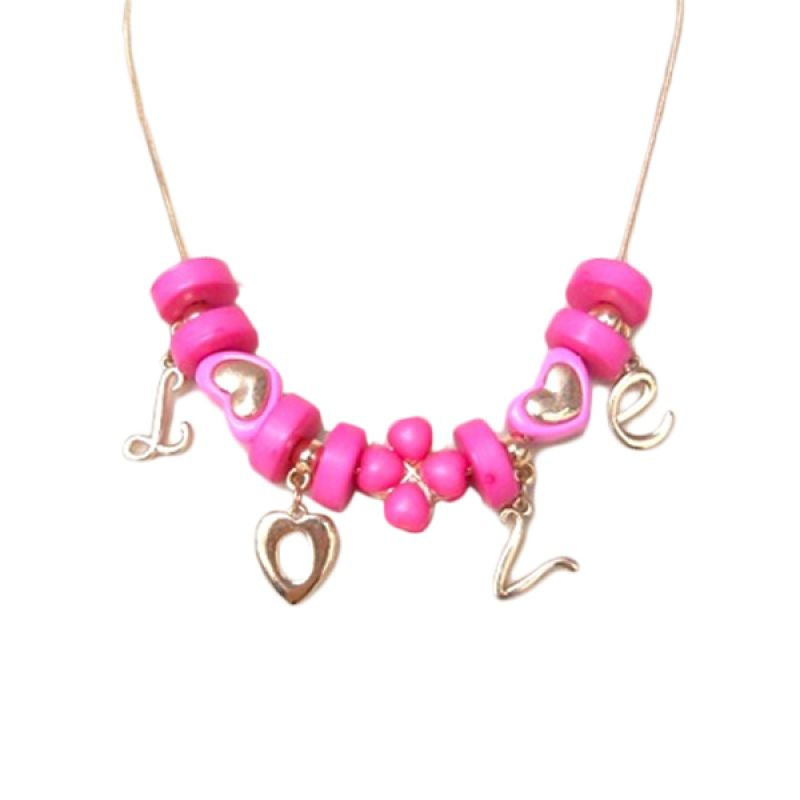 Trinket Box Candy Love Pink Necklace