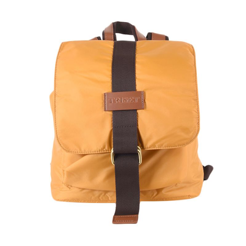 Triset Nylon 004 TB40004001800 Yellow Backpack