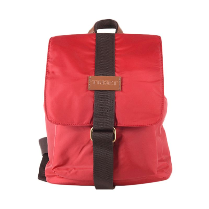 Triset Bag Nylon 004 TB40004002800 Red Backpack