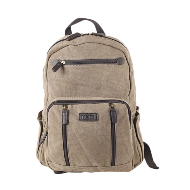 Triset Bags Canvas 005 TB40005090400 Khaky Backpack