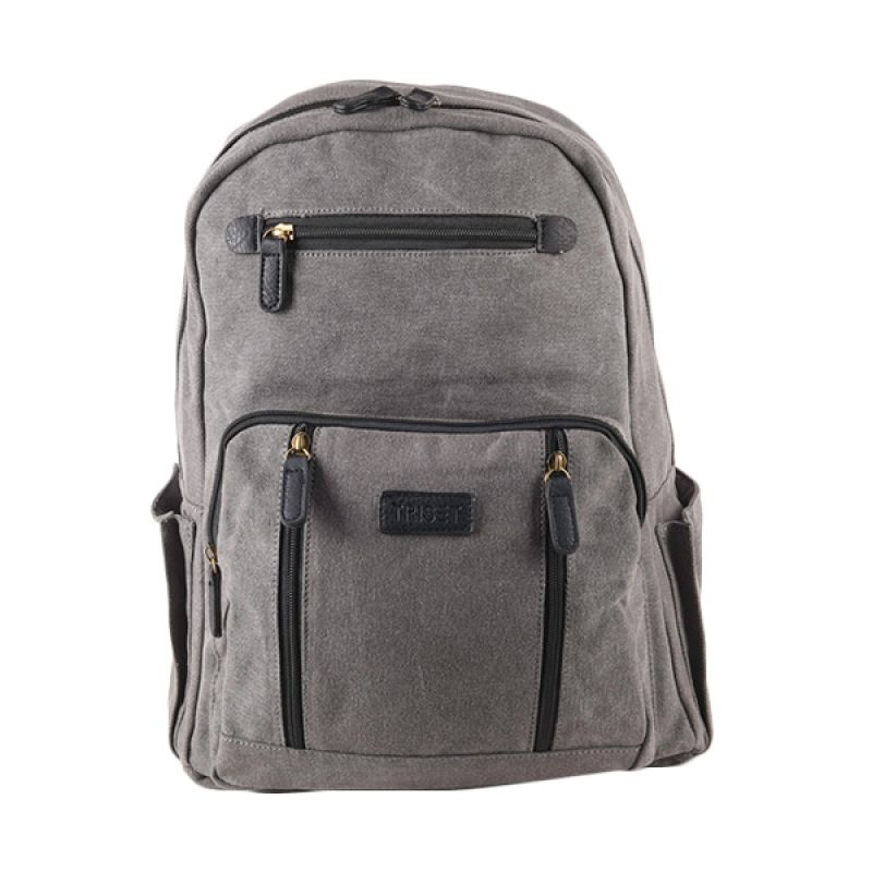 Triset Bags Canvas 005 TB40005092300 Grey Backpack