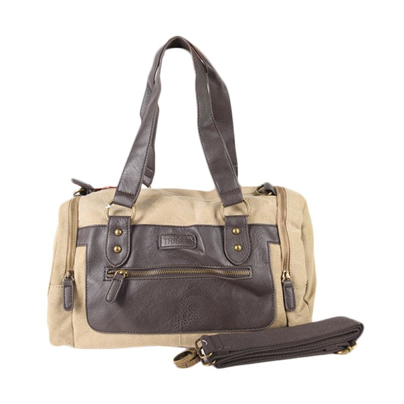 Triset Bags Multi Purpose 120 TB90120090600 Beige Shoulder Bag
