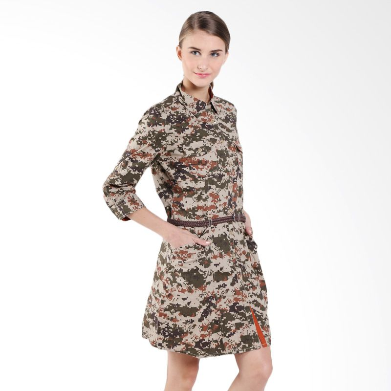 Triset Camouflage Wi...Mini Dress