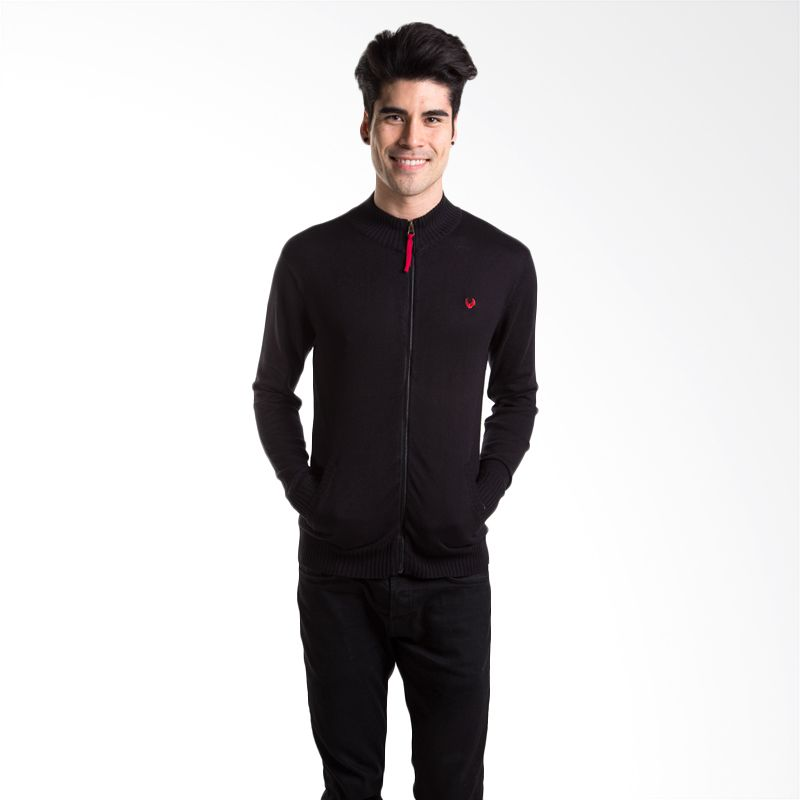 Man Club MOP4313B3 Black Sweater Pria