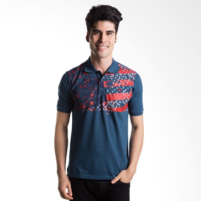 Man Club MPA5273N3 Dark Blue Polo Shirt Pria