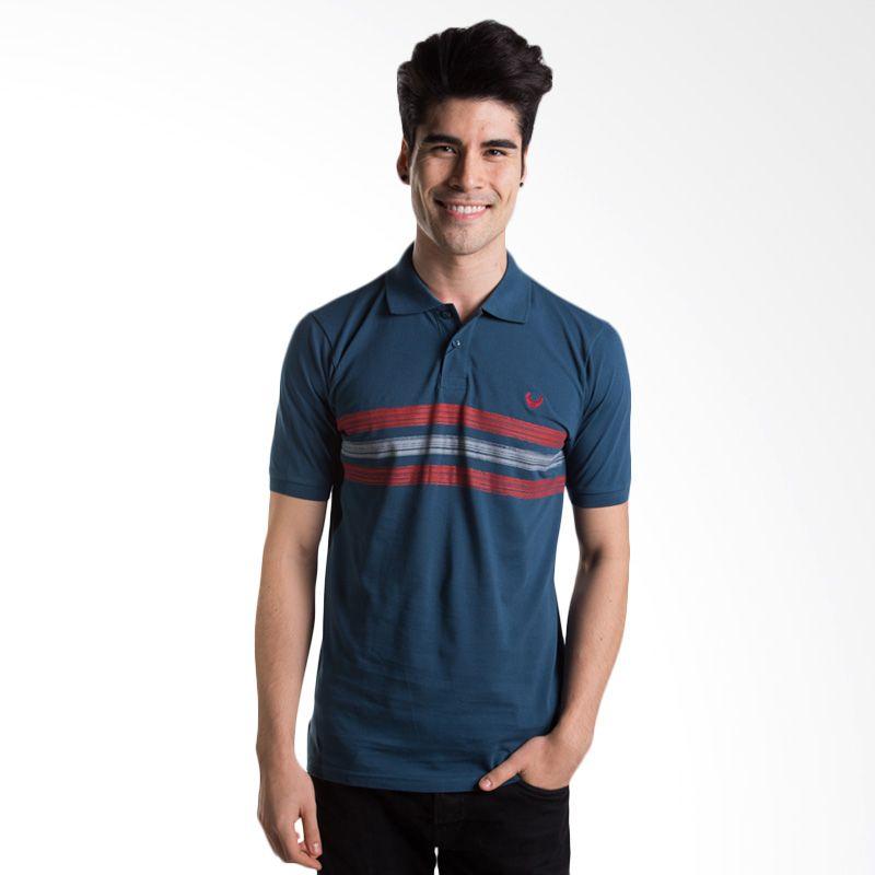 Man Club MPA5274N3 Dark Blue Polo Shirt Pria