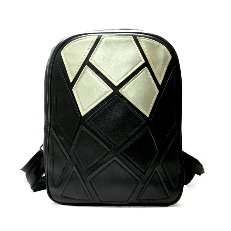 Troos Bag Korea Style Unisex Venom A051 Black Tas Ransel