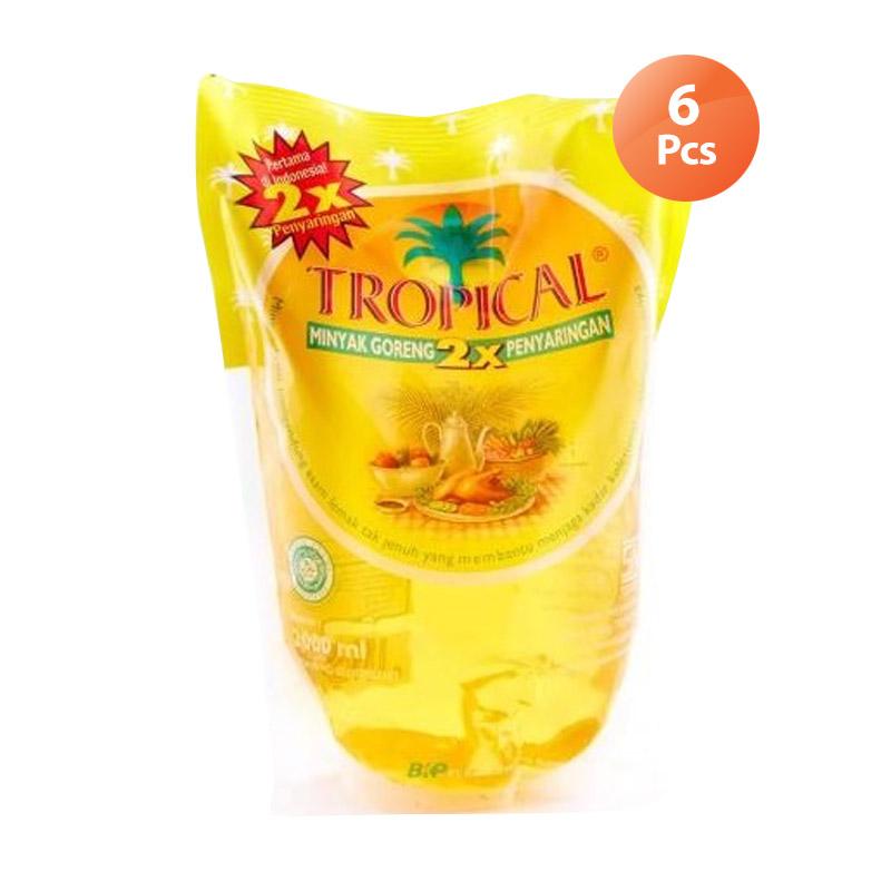 Tropical Minyak Goreng Pouch [2000 ml x 6 pcs]