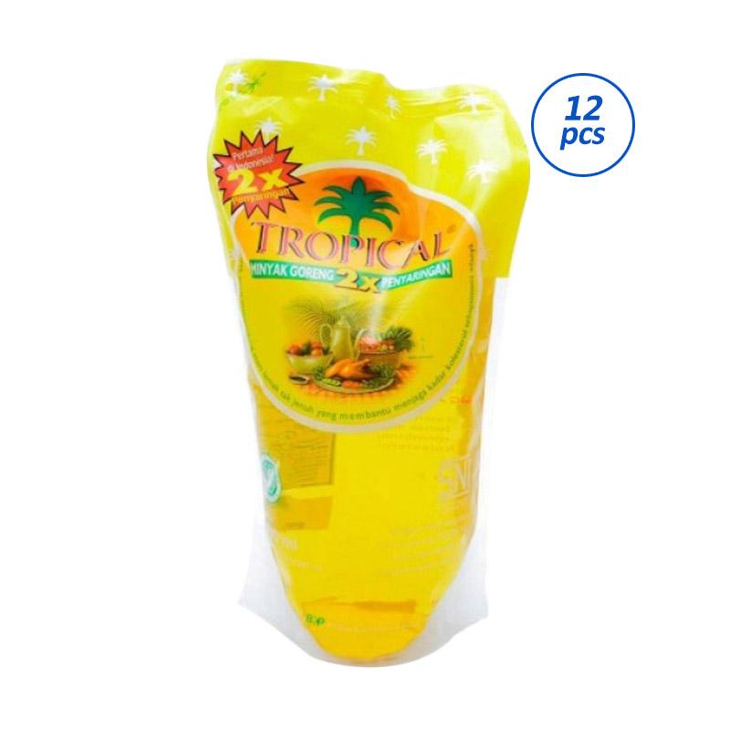 Tropical Minyak Goreng Pouch [1000mLx12pcs]