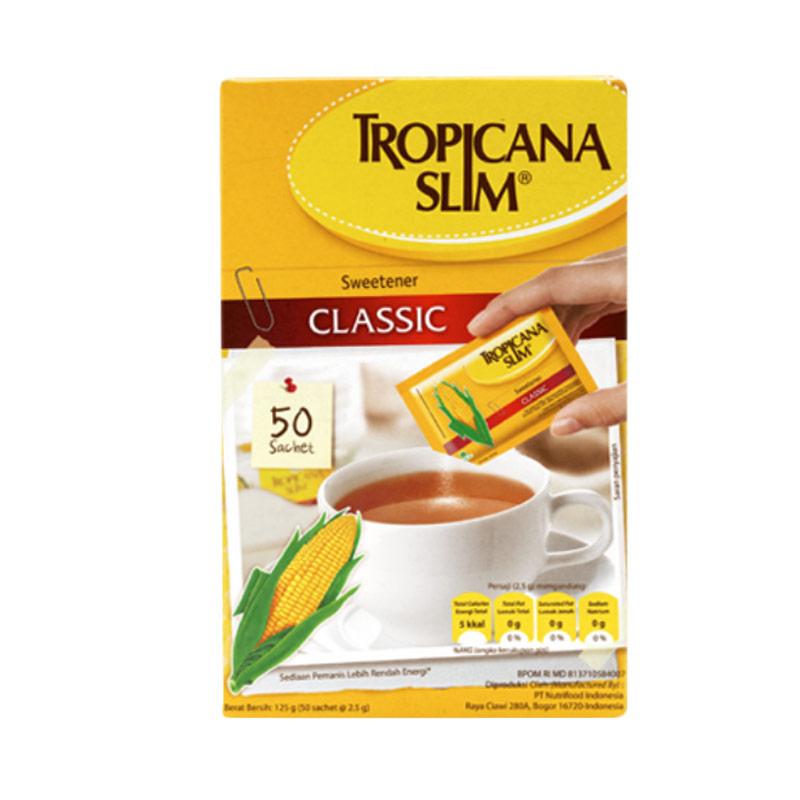 harga BNI - Tropicana Slim Sweetener Classic Refill Gula [250 gr] Blibli.com
