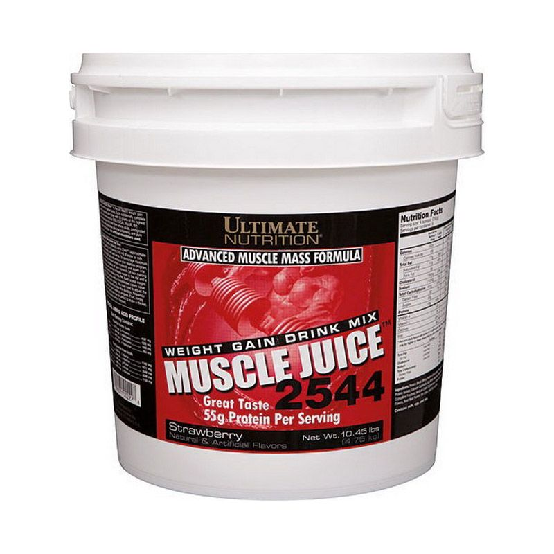Ultimate Nutrition Muscle Juice Strawberry Minuman Protein [10.45 lbs]