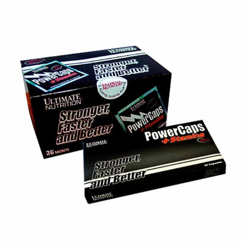 Ultimate Nutrition Power Caps Box (36 sachet)