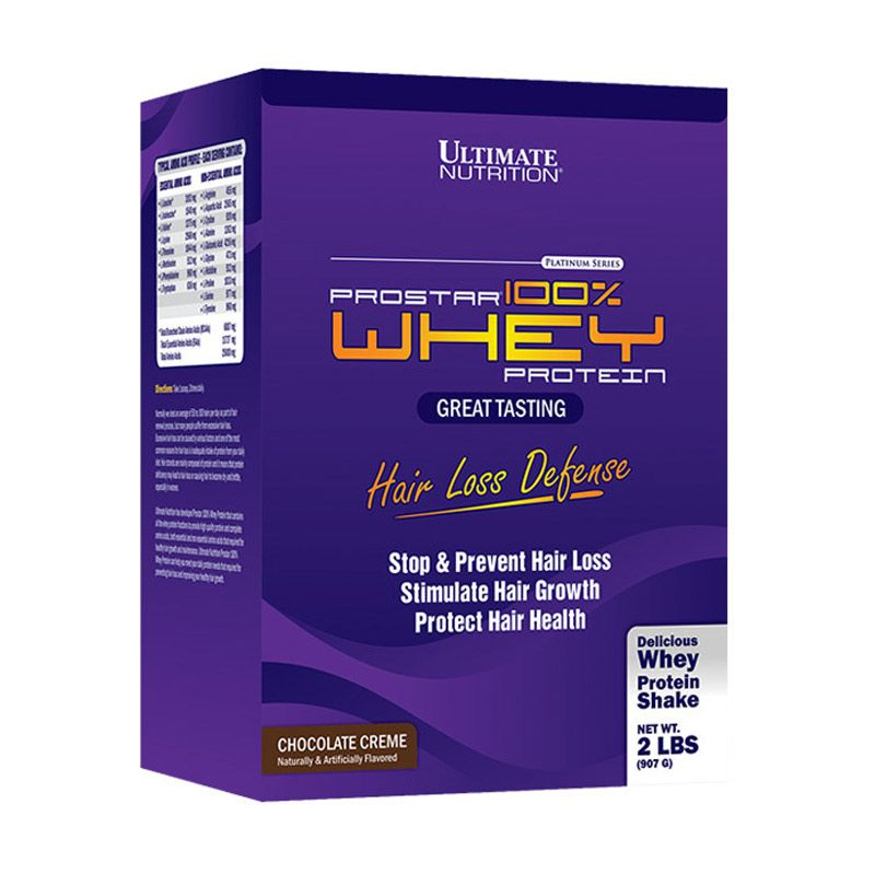 Ultimate Nutrition Prostar 100% Whey Protein for HAIR LOSS DEFENSE Minuman Kesehatan