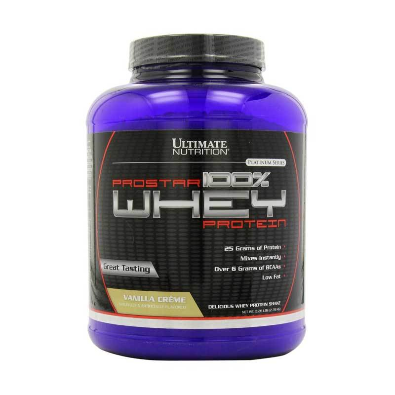 Ultimate Nutrition Prostar Whey Protein Vanilla (5.28 lbs)