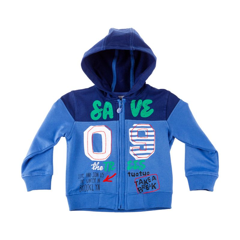 Tuc Tuc 35606 Sweatshirt Brooklyn Tour Blue Jacket Anak Laki-Laki