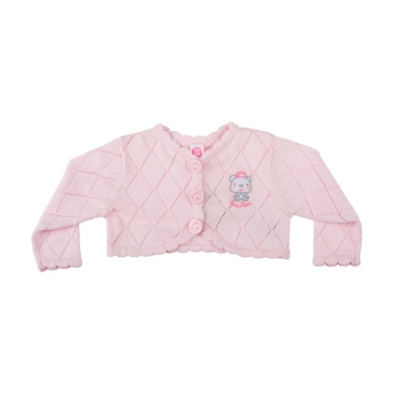 Tuc Tuc 44125 Knitted A La Deriva Pink Jacket Anak Perempuan