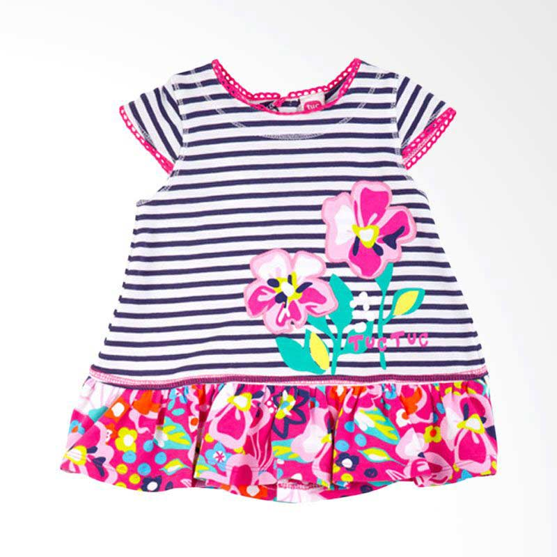 Tuc Tuc 44151 Retro Flowers Dress Anak