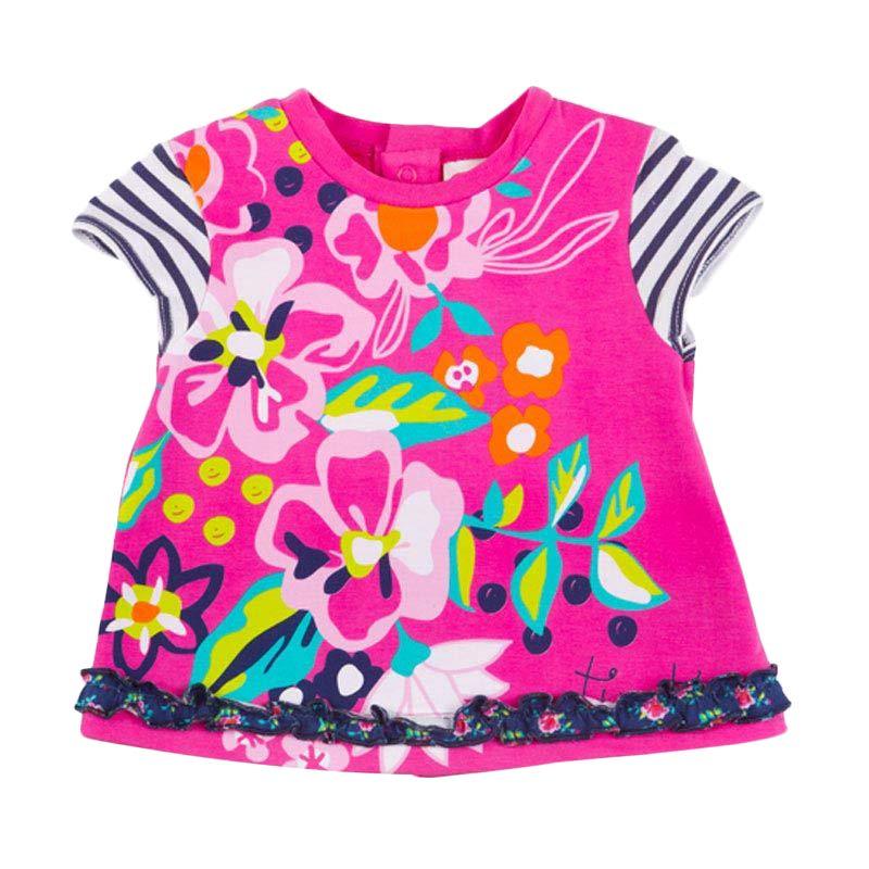 Tuc Tuc Retro Flowers 44157 Baju Atasan Anak Perempuan