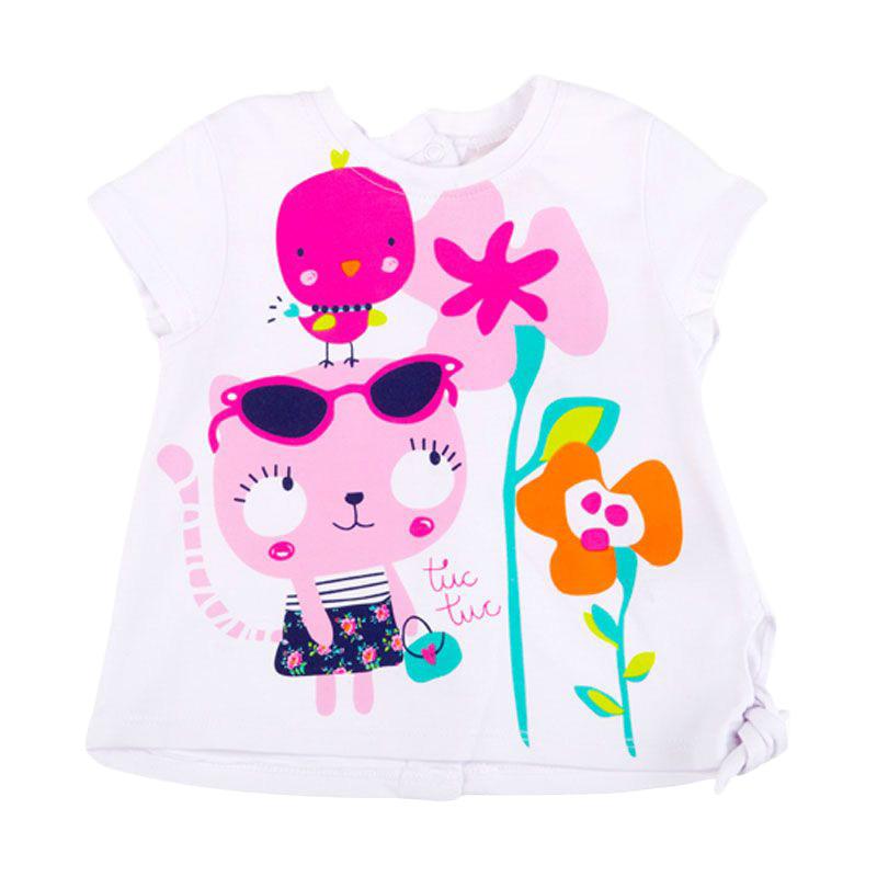 Tuc Tuc Retro Flowers 44158 Baju Atasan Anak Perempuan