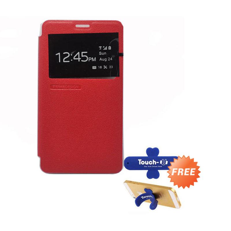 Tunedesign FolioAir Red Casing for Xiaomi Redmi Note
