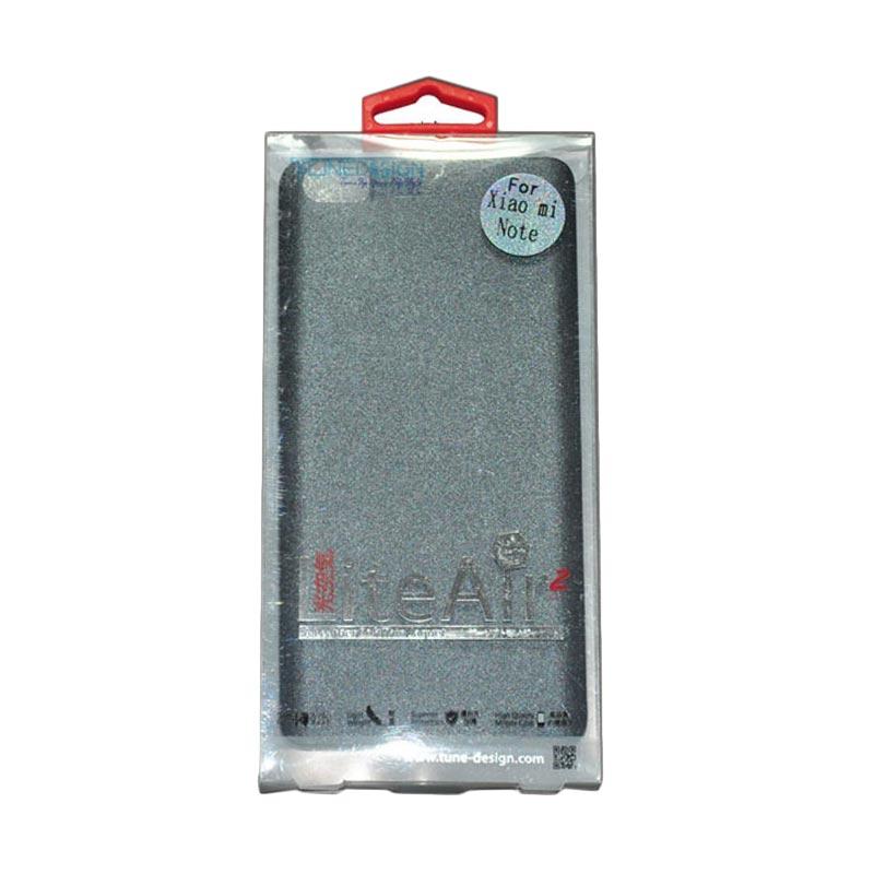 Tunedesign Lite Air 2 Grey Casing for Xiaomi Mi Note/Redmi Pro + Tempered Glass