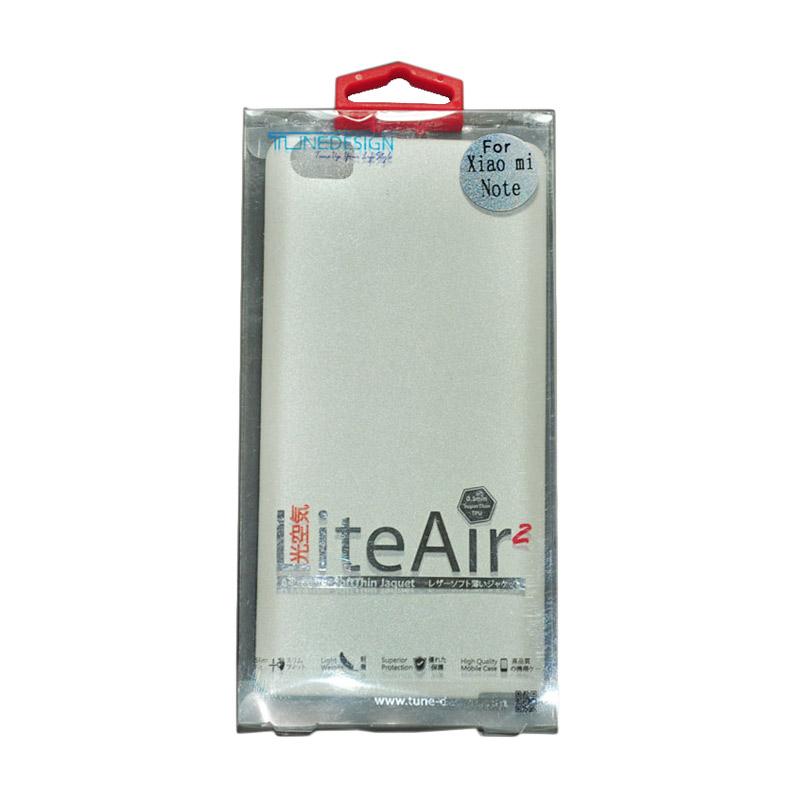 Tunedesign Lite Air 2 White Casing for Xiaomi Redmi Note