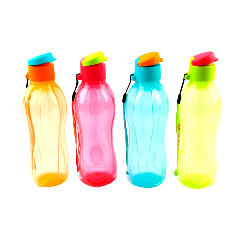 Jual Tupperware Eco Botol Minum [500 mL/4 pcs] Online