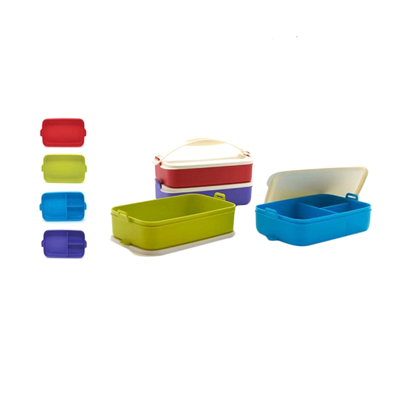 Tupperware Multi Click To Go Set Kotak Makan [4 pcs]