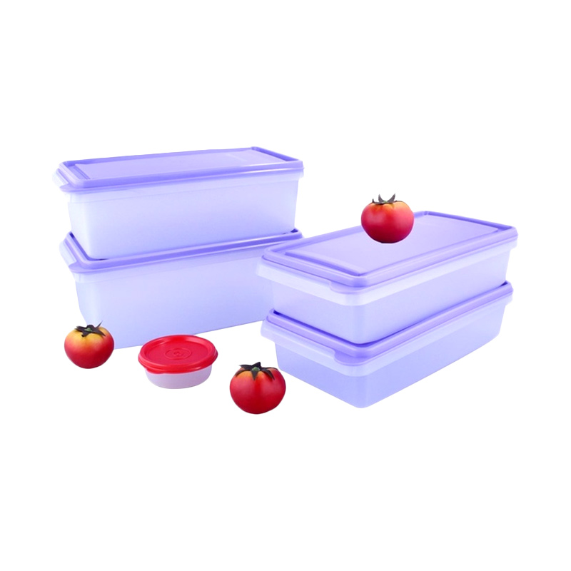Tupperware Plum Collection Set Toples
