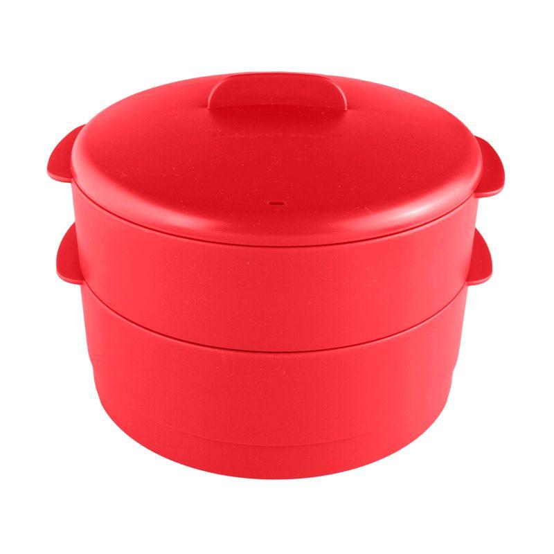 Tupperware Steam It Red Peralatan Masak